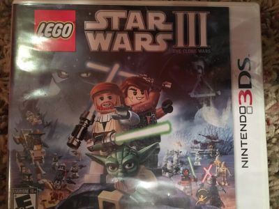 New LEGO Star Wars III for Nintendo 3ds