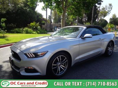 2017 Ford Mustang ECOBOOST PREMIUM (Silver)