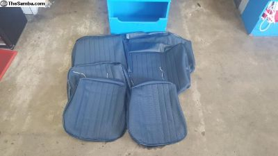 1956-1957 Seat Upholstery