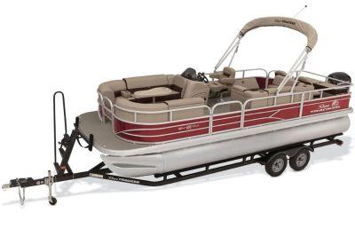 2018 Sun Tracker SportFish 22 DLX Pontoon Boats Boats Gaylord, MI