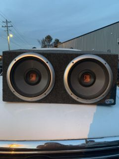 Rockford forage 12 subs with enclosure