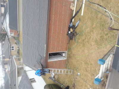Roofing gutters siding services