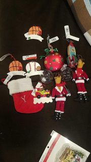 All new with tags. Lot of miscellaneous Christmas ornaments