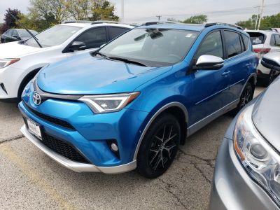 2016 Toyota RAV4 SE (Electric Storm Blue)