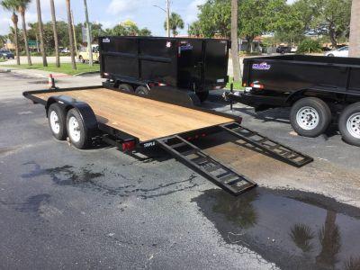 2018 Triple Crown 7X18 Equipment Utility Trailers Fort Pierce, FL