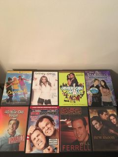 Tons of DVDs!