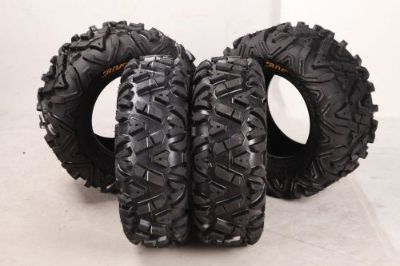 Find NEW PROMOTION! Set of 4 New SUN.F ATV Tires AT 26x9-14 Front & 26x11-14 Rear 6PR motorcycle in Baldwin Park, California, United States, for US $276.99