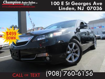 2014 Acura TL Base w/Tech (Crystal Black Pearl)