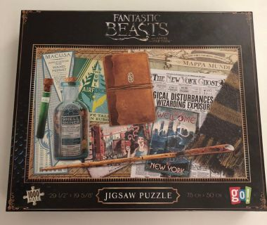 Fantastic Beasts Harry Potter Puzzle