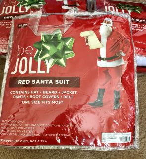 Brand New Santa Suit French Valley