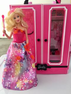 Barbie Closet and doll