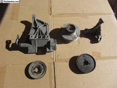 Tiico motor serpentine belt setup