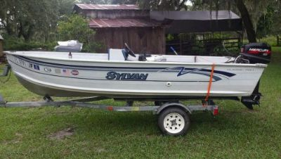 Find 16ft Sylvan Boat motorcycle in Webster, Florida, United States