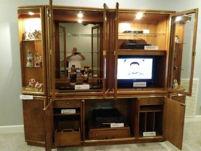 Furniture- ENTERTAINMENT CENTER
