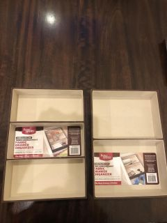 Fabric Drawer storage containers