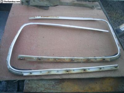 1959-64 Beetle Door window trim