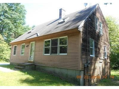 3 Bed 1 Bath Foreclosure Property in Waterboro, ME 04087 - Ross Corner Rd