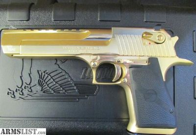 For Sale: Gold Magnum research desert eagle