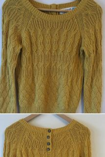 Anthropologie Cotton Knitted Sweater