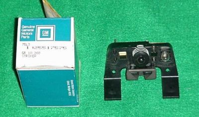 Sell NOS NEW 82 83 84 85 86 87 88 EL CAMINO MONTE CARLO SS GLOVEBOX LATCH STRIKER motorcycle in Fort Wayne, Indiana, United States, for US $79.95