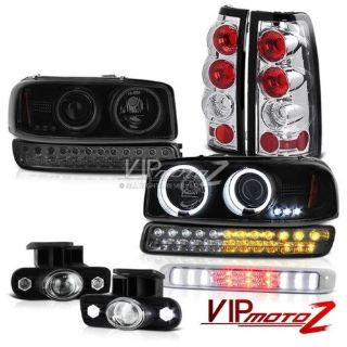 Find 99-02 Sierra WT Roof Cab Light Fog Lights Rear Brake Bumper Lamp CCFL Headlights motorcycle in Walnut, California, United States, for US $375.42