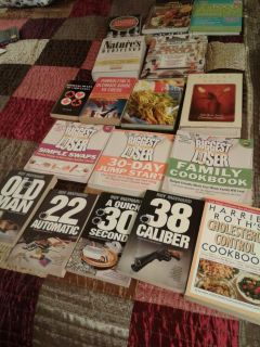 Book set 15 books (3 Biggest Loosers are sold) for only $3! Some new!