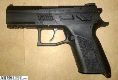 For Trade: NIB CZ P-07 9mm (2nd Gen)