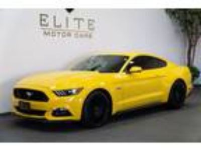Used 2017 Ford Mustang Triple Yellow Tri-Coat, 13.3K miles