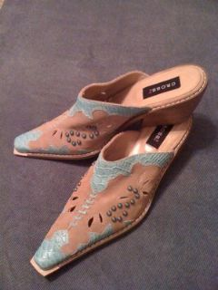 Cowgirl sexy shoes size 9