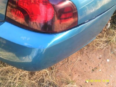 2004 Nissan Sentra Rear Bumper Assembly (PARTING OUT)