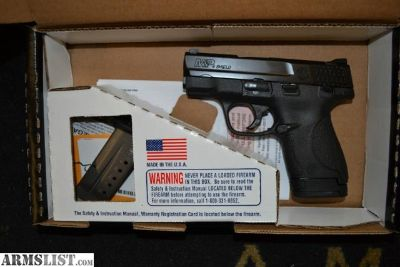 For Sale: Smith Wesson Shield 9mm NEW, never fired