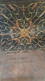 Wall decor/fireplace cover