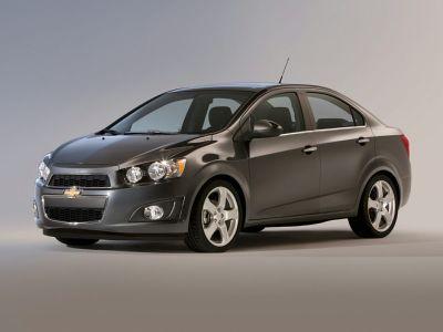 2015 Chevrolet Sonic LS (Black Granite Metallic)