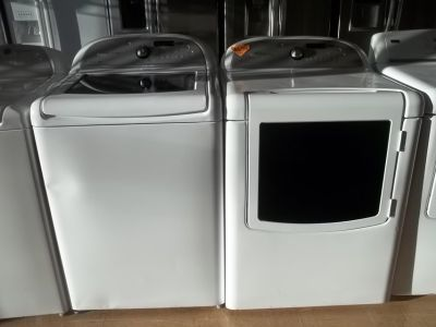 WHIRLPOOL CABRIO TOP-LOAD WASHER & DRYER