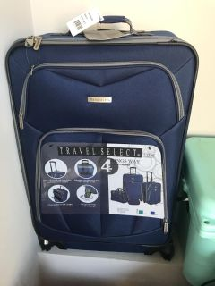 25 inch check in spinner luggage new