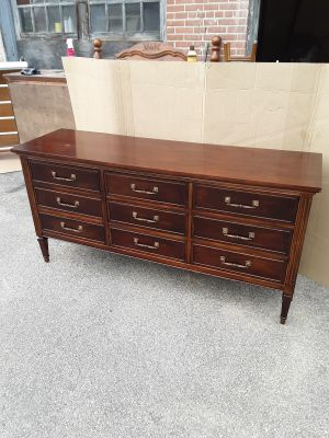 9 drawer Dixie dresser