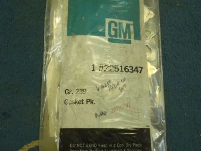 Buy NOS 1981 GM 350 DIESEL HEAD GASKET SET CHEVY OLDS PONTIAC TRUCK INTERNAL EGR motorcycle in Salem, Iowa, United States, for US $199.95