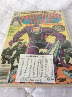 Comics: MACHINE MAN Collection