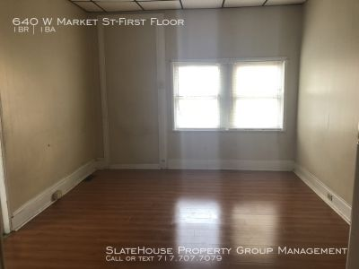 1st Fl 1 Bedroom - Month to month lease!