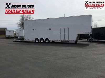 2018 United Trailers USHGN 8.5X38 GOOSENECK Stacker....STOCK