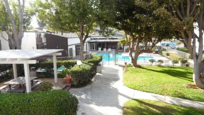 Mission Valley Condo, 2 Parking Spots, Free Cable, A/C,  Overlooks Pool
