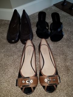 Womens size 9.5 shoe lot all for $8