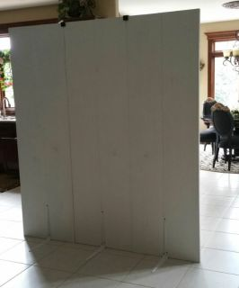 Homemade 12ft free standing wall Room Divider