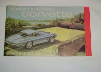 Find 63 1963 CORVETTE OWNERS GUIDE MANUAL SECOND EDITION W/ FULL NEWS CARD motorcycle in Leo, Indiana, United States, for US $79.00