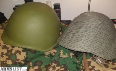 For Sale: Russian SSh-40 WW2 Helmet and East German M56
