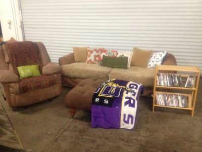 Couch, recliner and more
