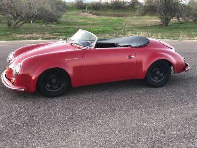 1957 vintage speedster 356 Porsche replica kit car convertible hot rod Volkswagen 356 not 912 911