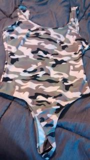 Camouflage body suit