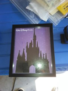 Disney pin board pin picture frame.