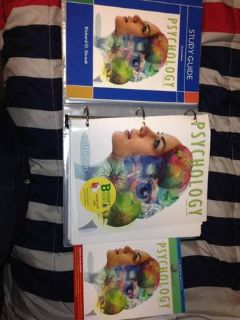 PSYC 102 and BISC 101 Books (LaTech)